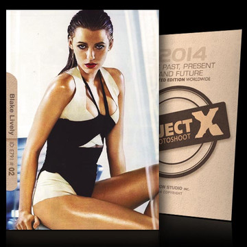 Blake Lively / White and Black [ ID: E791 #XX ] PROJECT X LIMITED EDITION CARDS