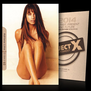 Adriana Lima / Unique Photo [ ID: E844 #XX ] PROJECT X LIMITED EDITION CARDS