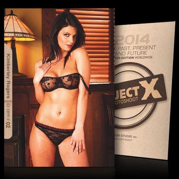 Kimberley Rogers / Sexy Look [ ID: E899 #XX ] PROJECT X LIMITED EDITION CARDS