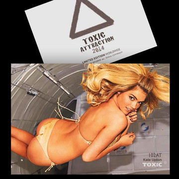 Kate Upton / Flying Sexy [ # 102AT ] - TOXIC ATTRACTION - LIMITED