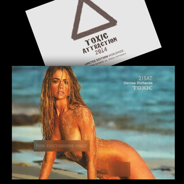 Denise Richards / On Beach [ # 215AT ] - TOXIC ATTRACTION - LIMITED
