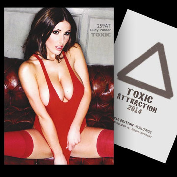Lucy Pinder / The Moment [ # 259AT ] - TOXIC ATTRACTION - LIMITED