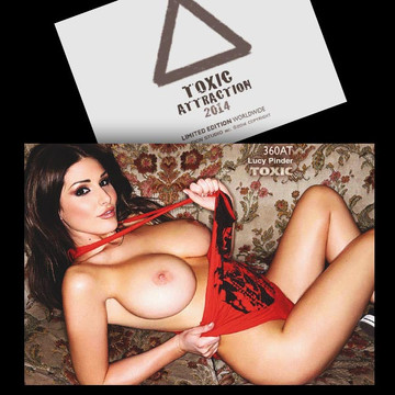 Lucy Pinder [ # 360AT ] TOXIC ATTRACTION LIMITED