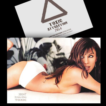 Krista Allen / Wide Eyes Shot [ # 380AT ] TOXIC ATTRACTION LIMITED
