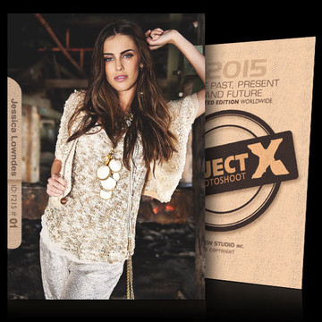 Jessica Lowndes / In Style [ ID: F215 #XX ] PROJECT X LIMITED EDITION CARDS