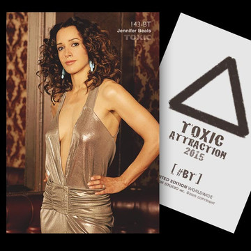Jennifer Beals / VIP With Class [ # 143-BT ] TOXIC ATTRACTION LIMITED