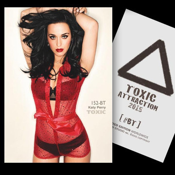 Katy Perry / Red Flag [ # 152-BT ] TOXIC ATTRACTION LIMITED