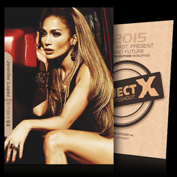 Jennifer Lopez / Reflexive [ ID: F260 #XX ] PROJECT X LIMITED EDITION CARDS