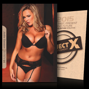 Jodie Gasson / In Black [ ID: F357 #XX ] PROJECT X LIMITED EDITION CARDS
