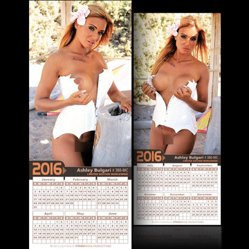 Ashley Bulgari [ # 380-MC ] COLLECTIBL​E MIN-CALEND​AR 2016