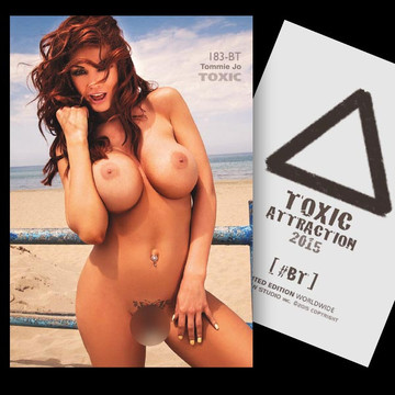 Tommie Jo / The Wild Beach [ # 183-BT ] TOXIC ATTRACTION cards