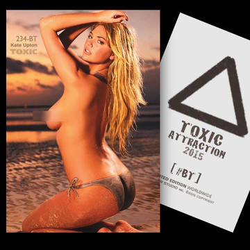 Kate Upton / Sunset [ # 234-BT ] TOXIC ATTRACTION cards