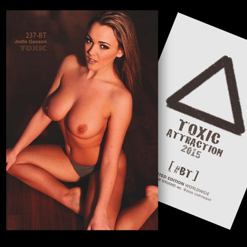 Jodie Gasson / Overtake [ # 237-BT ] TOXIC ATTRACTION cards