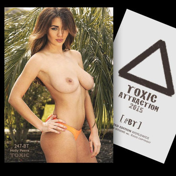 Holly Peers / Tropical Destination [ # 247-BT ] TOXIC ATTRACTION cards
