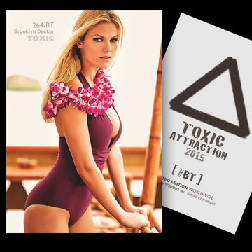 Brooklyn Decker / Strange Place [ # 264-BT ] TOXIC ATTRACTION cards