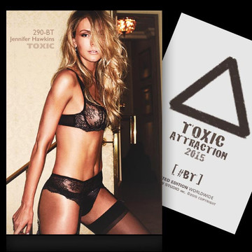 Jennifer Hawkins / Catch Me [ # 290-BT ] TOXIC ATTRACTION cards