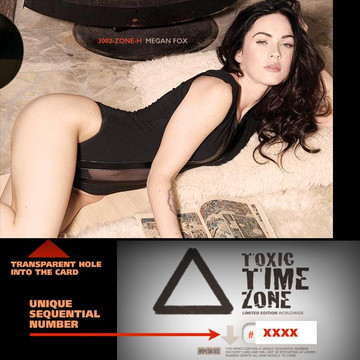 Megan Fox / Relaxed On Carpet [ # 3002-ZONE-​H ] - TOXIC TIME ZONE - NUMBERED