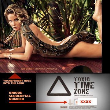 Jennifer Lawrence / The Snake[ # 3006-ZONE-H ] - TOXIC TIME ZONE - NUMBERED