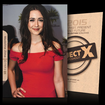 Madeline Zima / Flashing Red [ ID: F459 #XX ] PROJECT X LIMITED EDITION CARDS