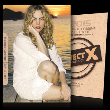 Melissa George / In White [ ID: F469 #XX ] PROJECT X LIMITED EDITION CARDS