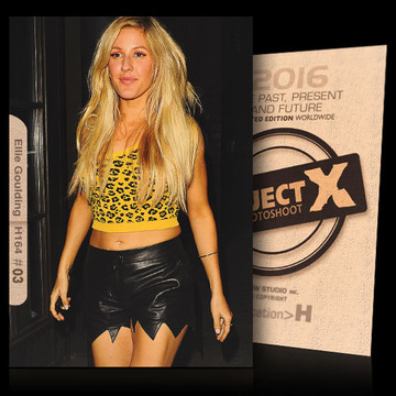 Ellie Goulding / Sexy Leather [ ID: H164 #XX ] PROJECT X LIMITED EDITION CARDS