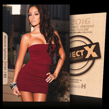 Melanie Iglesias / Sexy In Red [ ID: H184 #XX ] PROJECT X LIMITED EDITION CARDS