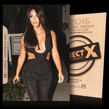 Kim Kardashian / Event-02 [ ID: H223 #XX ] PROJECT X LIMITED EDITION CARDS