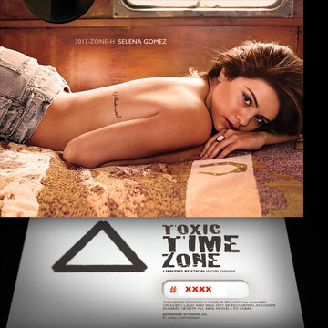 Selena Gomez / Lost In Time [ # 3017-ZONE-​H ] - TOXIC TIME ZONE - NUMBERED