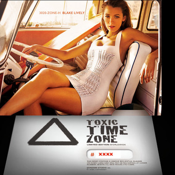 Blake Lively / War Zone [ # 3020-ZONE-​H ] - TOXIC TIME ZONE - NUMBERED