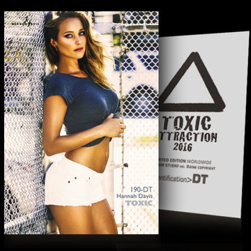 Hannah Davis / Inside The Cage [ # 190-DT ] TOXIC ATTRACTION cards