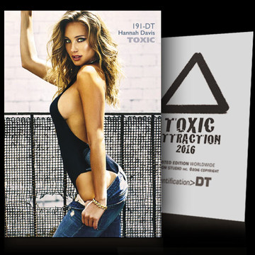 Hannah Davis / Controllab​le Emotion [ # 191-DT ] TOXIC ATTRACTION cards