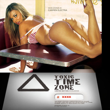 Carmen Electra / Take The Curve [ # 3030-ZONE-​H ] - TOXIC TIME ZONE - NUMBERED