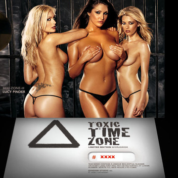 Lucy Pinder / 3 Girls [ # 3032-ZONE-​H ] - TOXIC TIME ZONE - NUMBERED