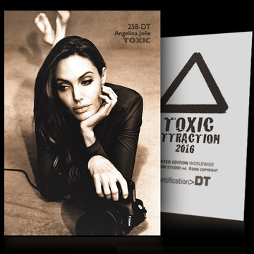 Angelina Jolie / Telephone [ # 258-DT ] TOXIC ATTRACTION cards
