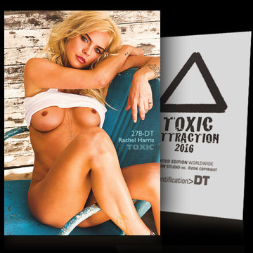 Rachel Harris / Old Blue Chair [ # 278-DT ] TOXIC ATTRACTION cards
