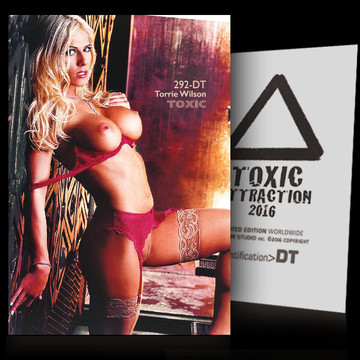 Torrie Wilson / Seduction [ # 292-DT ] TOXIC ATTRACTION cards