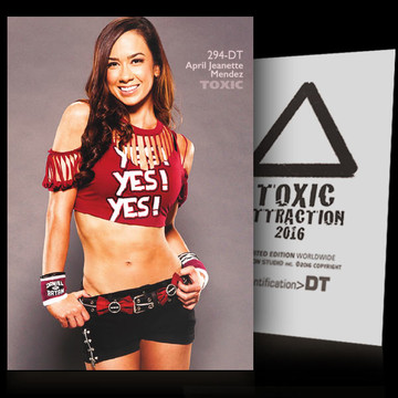April Jeanette Mendez / Yes [ # 294-DT ] TOXIC ATTRACTION cards