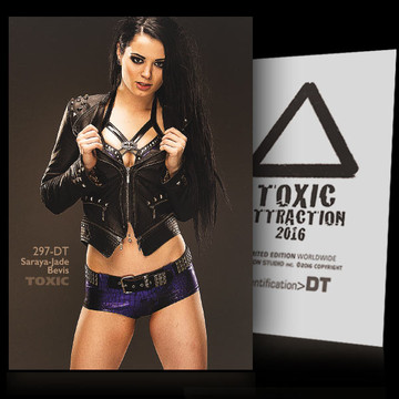 Saraya-Jade Bevis / The Competition [ # 297-DT ] TOXIC ATTRACTION cards