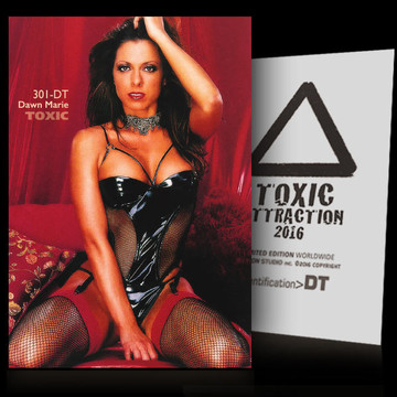 Dawn Marie / Red Zone Vol.1 [ # 301-DT ] TOXIC ATTRACTION cards