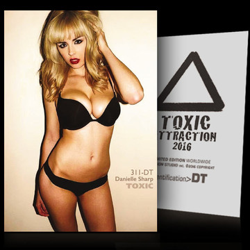 Danielle Sharp / Caught In The Act [ # 311-DT ] TOXIC ATTRACTION cards