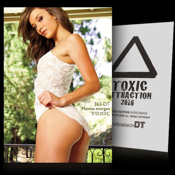 Malena morgan / Seduction Part [ # 363-DT ] TOXIC ATTRACTION cards