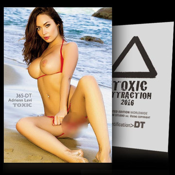 Adrienn Levi / Paradise Lost [ # 365-DT ] TOXIC ATTRACTION cards