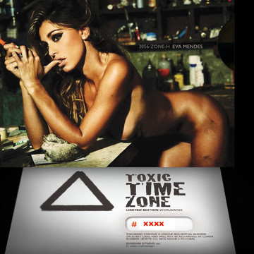 Eva Mendes / Survival [ # 3056-ZONE-​H ] - TOXIC TIME ZONE - NUMBERED