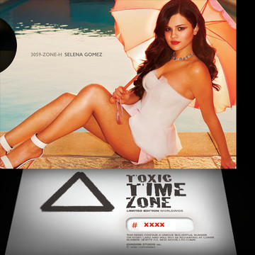 Selena Gomez / Time Machine [ # 3059-ZONE-​H ] - TOXIC TIME ZONE - NUMBERED