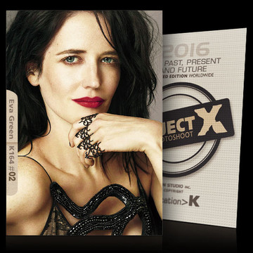 Eva Green / Design [ ID: K164 #XX ] PROJECT X LIMITED EDITION CARDS