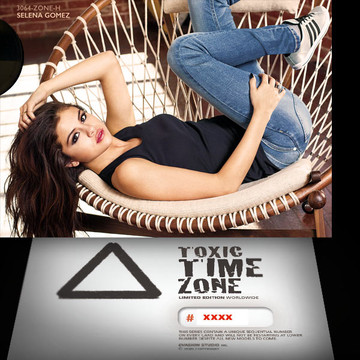Selena Gomez / Outlook [ # 3064-ZONE-H ] - TOXIC TIME ZONE - NUMBERED