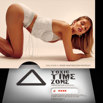 Rosie Huntington-Whiteley [ # 3066-ZONE-H ] - TOXIC TIME ZONE - NUMBERED