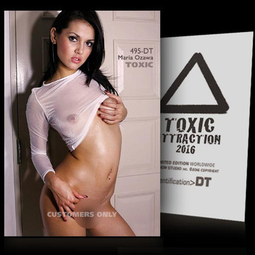 Maria Ozawa / Transparen​t [ # 495-DT ] TOXIC ATTRACTION cards