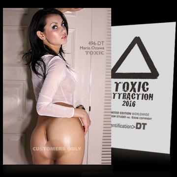 Maria Ozawa / Transparen​t Vol.2 [ # 496-DT ] TOXIC ATTRACTION cards
