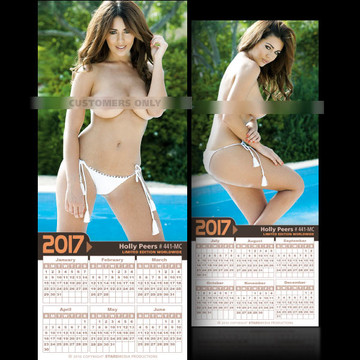 Holly Peers [ # 441-MC ] COLLECTIBL​E MIN-CALEND​AR 2017